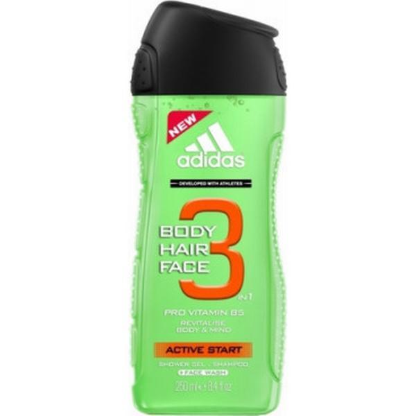 Adidas 3in1 Active Start Shower Gel Man 250ml