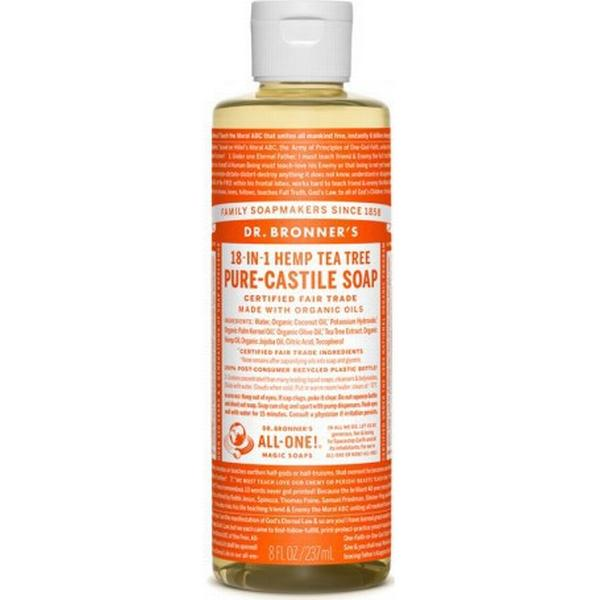 Dr. Bronners Pure Castile Liquid Soap Tea Tree 240ml