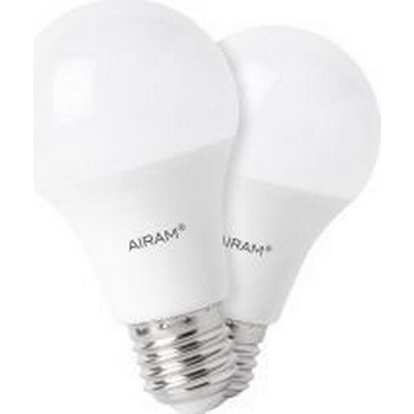 Airam 4711552 LED Lamp 9.5W E27 2 Pack