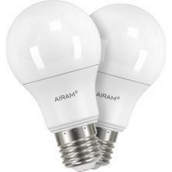 Airam 4711551 LED Lamp 6W E27 2 Pack