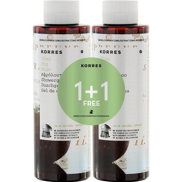 Korres Fig Shower Gel Limited Edition 250ml 2-pack