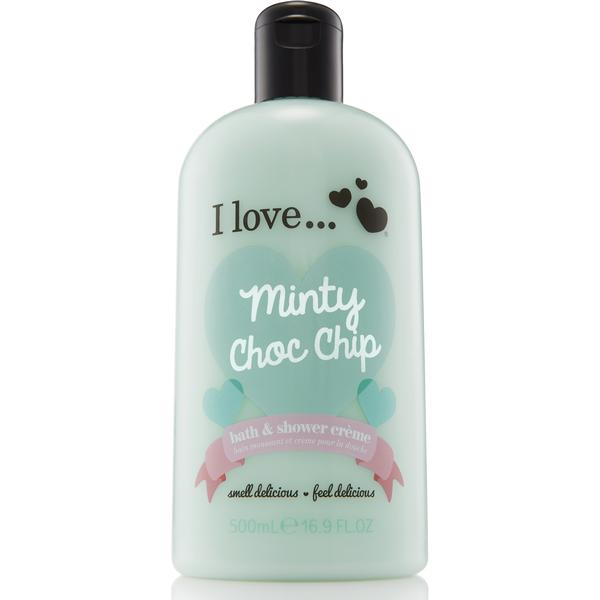 I love... Minty Choc Chip Bubble Bath & Shower Gel 500ml