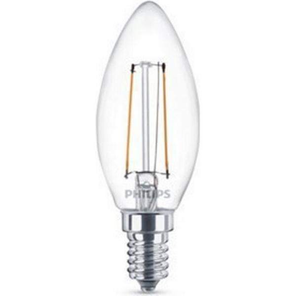Philips LED Lamp 2700K 2W E14