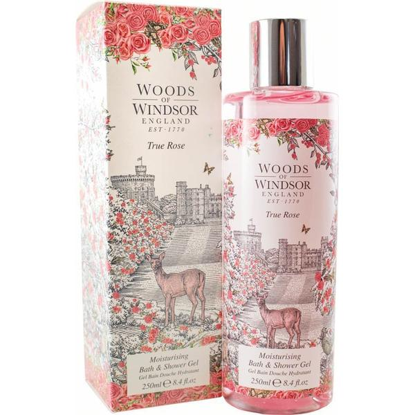 Woodster True Rose Moisturising Bath & Shower Gel 250ml