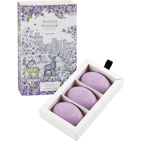 Woods Of Windsor Lavender Soap 60g 3-pack