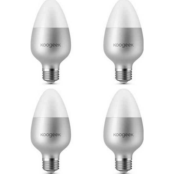 Smart LED Lamps 8W E27 4-pack