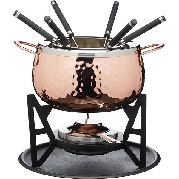Kitchencraft Artesà Hand Finished Copper Fonduegryde