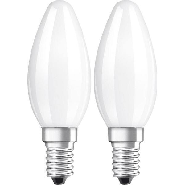 Osram BASE CL B 40 LED Lamp 4W E14 2-Pack