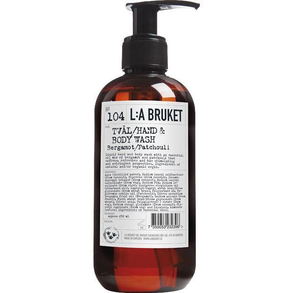 L:A Bruket 104 Bergamot Patchouli Hand & Body Wash 250ml