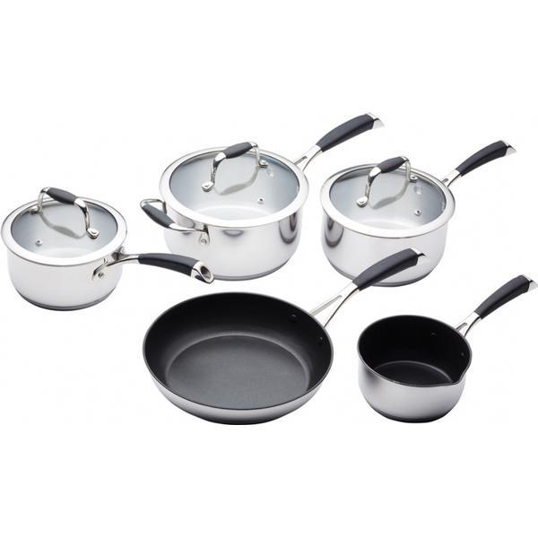 Kitchencraft Master Class Sæt med låg 5 dele