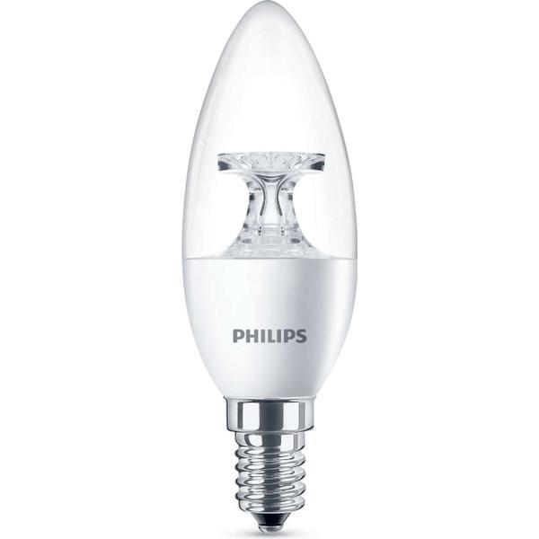 Philips LED Lamp 2700K 5.5W E14 4 Pack