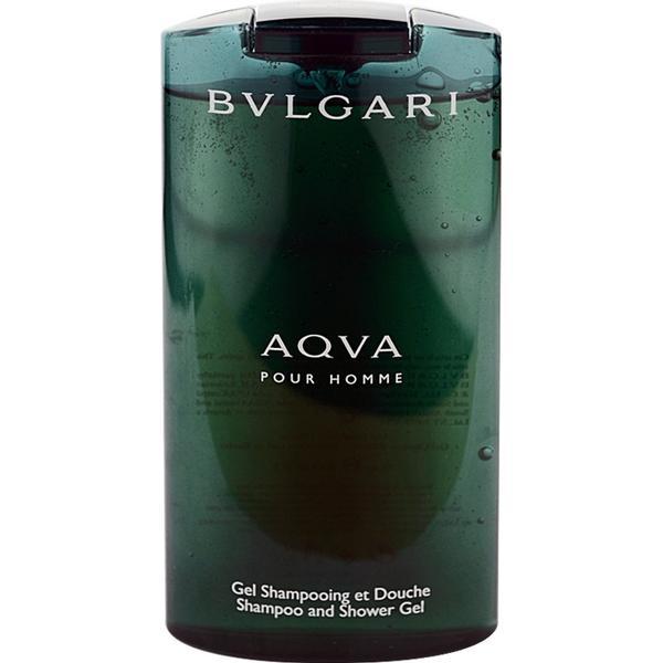 Bvlgari Aqva Pour Homme Shampoo & Shower Gel 200ml