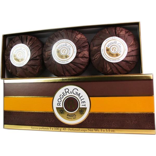 Roger & Gallet Bois D'orange Soap Coffret 100g 3-pack