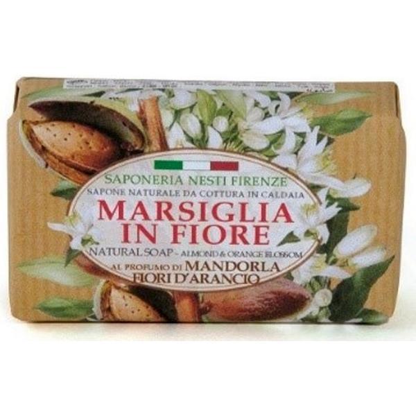 Nesti Dante Marseille in Fiore Almond & Orange Blossom Soap 125g