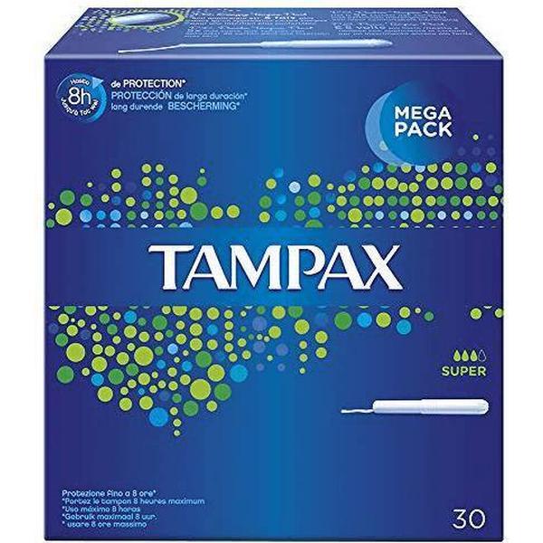 Tampax Super 30-pack
