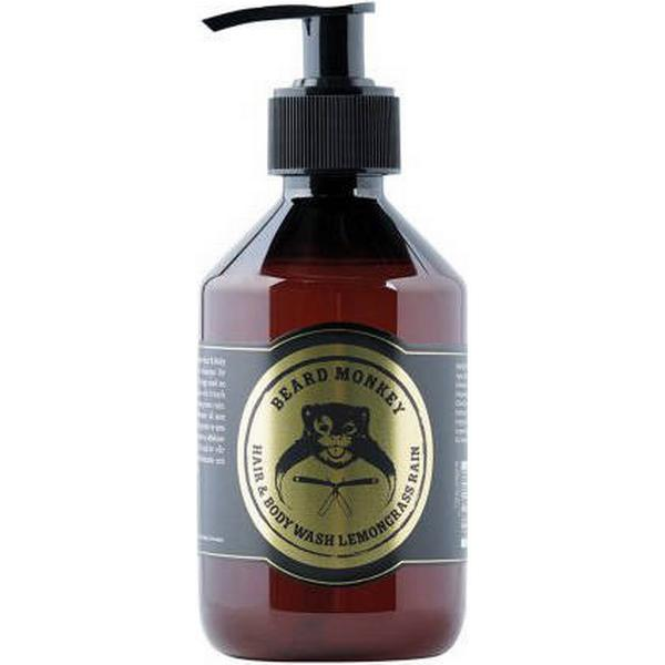 Beard Monkey Lemongrass Rain Hair & Body Wash 250ml