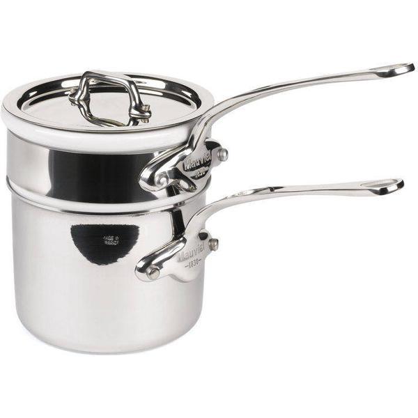 Mauviel Cook Style Bain-Marie Gryde med låg 12cm