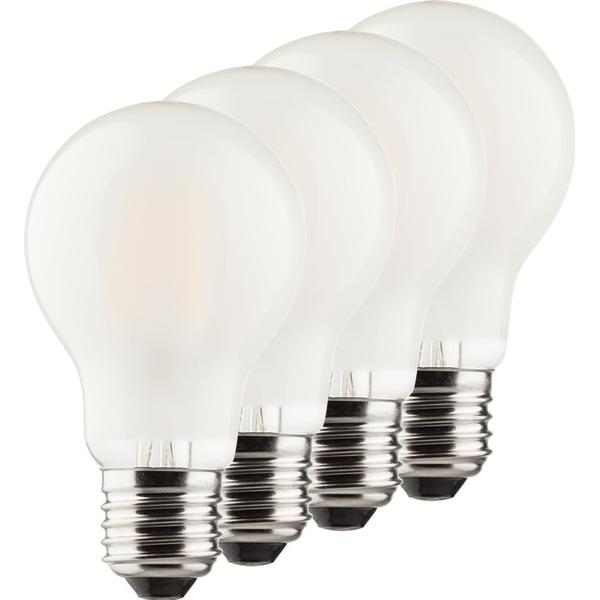 Mueller 400179 LED Lamp 6.5W E27 4 Pack