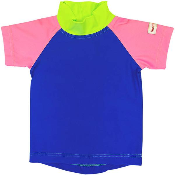 Imsevimse Swim & Sun T-shirt - Pink/Blue/Green
