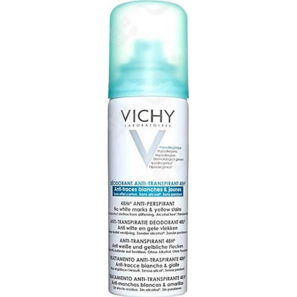 Vichy 48Hr Aerosol No Marks Anti Perspirant Deo 125ml