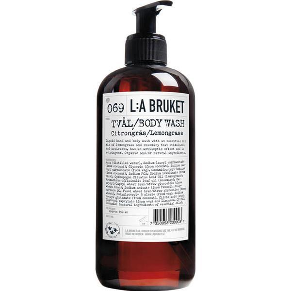 L:A Bruket 069 Lemongrass Liquid Soap 450ml