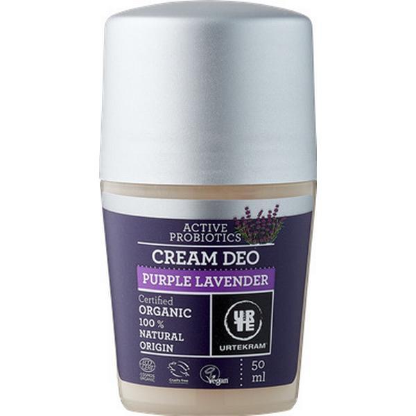 Urtekram Purple Lavender Cream Deo Roll-on 50ml