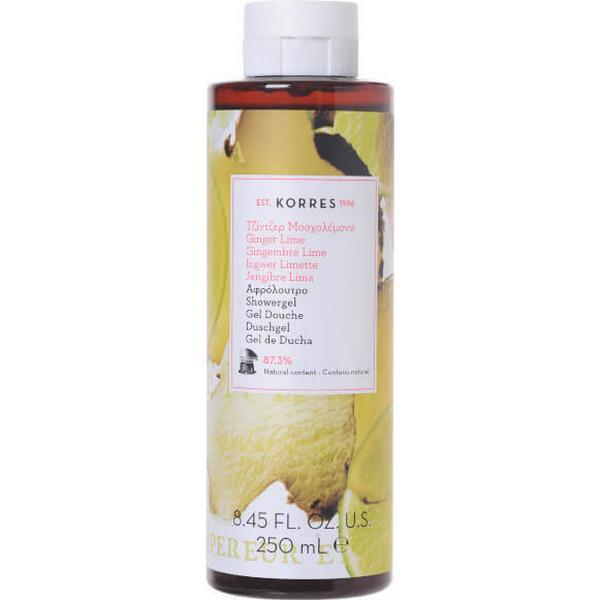 Korres Ginger Lime Shower Gel 250ml