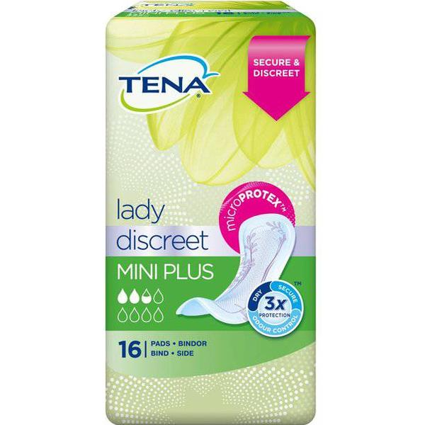 TENA Lady Discreet Mini Plus 16-pack