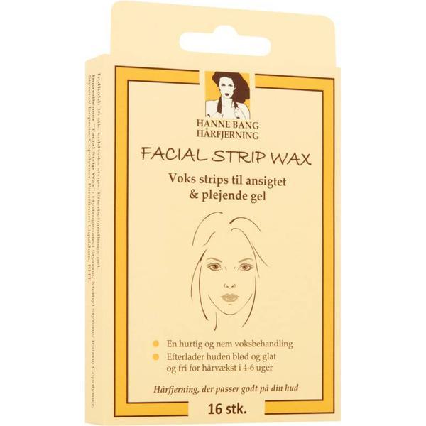 Hanne Bang Facial Strip Wax 16-pack