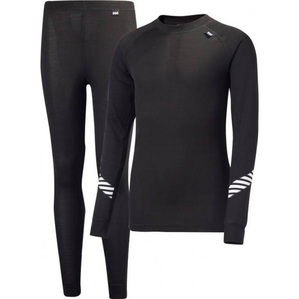 Helly Hansen JR Lifa Base Layer Set - Black (26665-998)