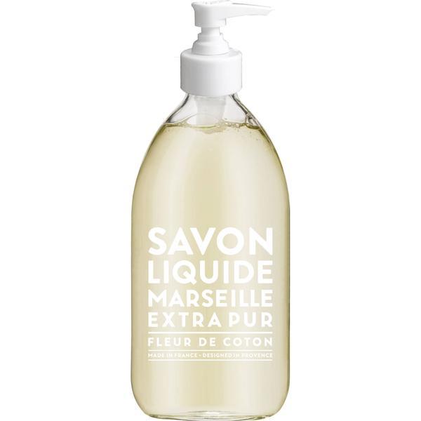 Compagnie de Provence Savon De Marseille Extra Pur Liquid Soap Cotton Flower 500ml