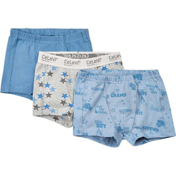 CeLaVi Boxer Shorts - Faded Denim (4734-792)