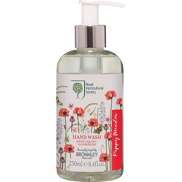 Bronnley RHS Poppy Meadow Hand Wash 250ml