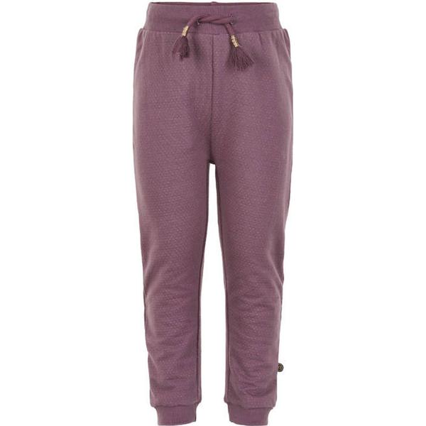Minymo Sweat Pants - Black Plum (120886-6106)