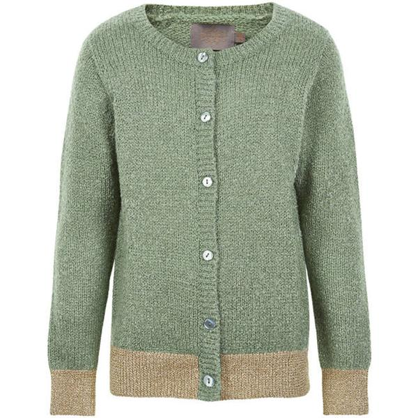 Creamie Glitter Knit Cardigan - Lily Pad (820858-9807)