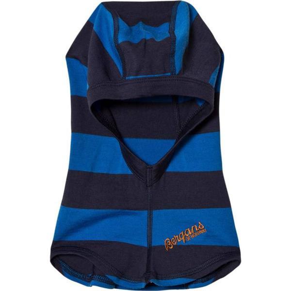 Bergans Fjellrapp Kids Balaclava - Navy/Athens Blue Striped (6279-12162)