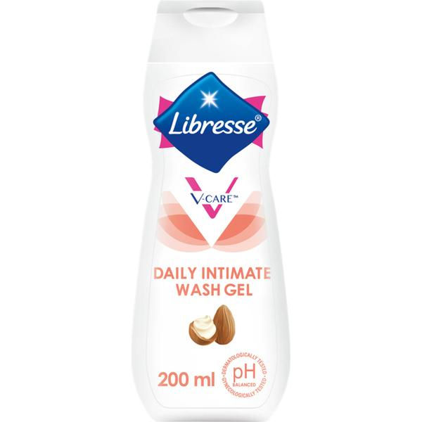 Libresse V-Care Daily Intimate Wash Gel Shea Butter & Almond 200ml