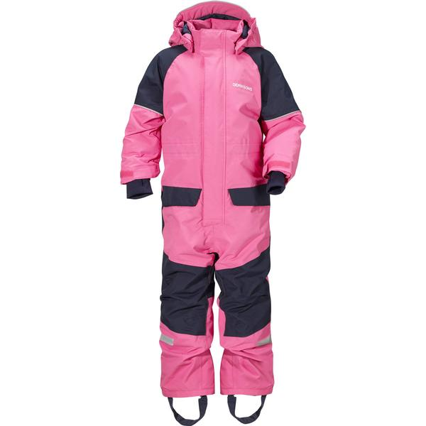 Didriksons Bille Kid's Coverall - Rosa (501844-089)