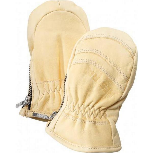 Hestra Baby Zip Leather - Naturgul (36251-400)