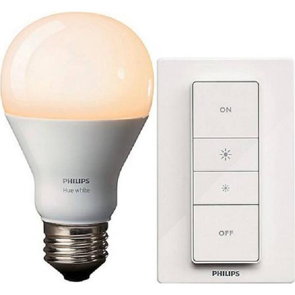 Philips Hue White LED Lamps 9W E27 Wireless Control