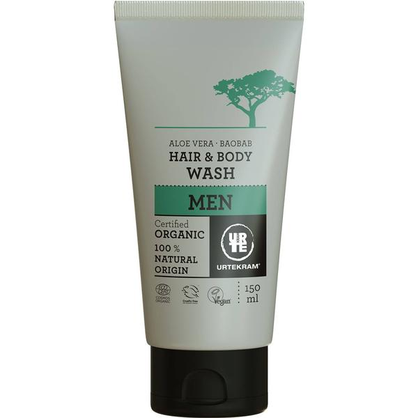 Urtekram Men Aloe Vera Baobab Hair & Body Wash 150ml