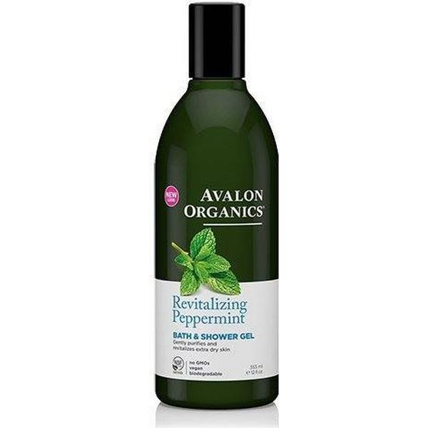 Avalon Organics Revitlizing Bath & Shower Gel Peppermint 355ml