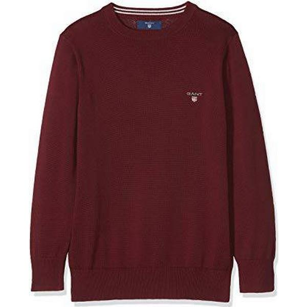 Gant Teen Boys Lightweight Sweater - Port Red (983990)