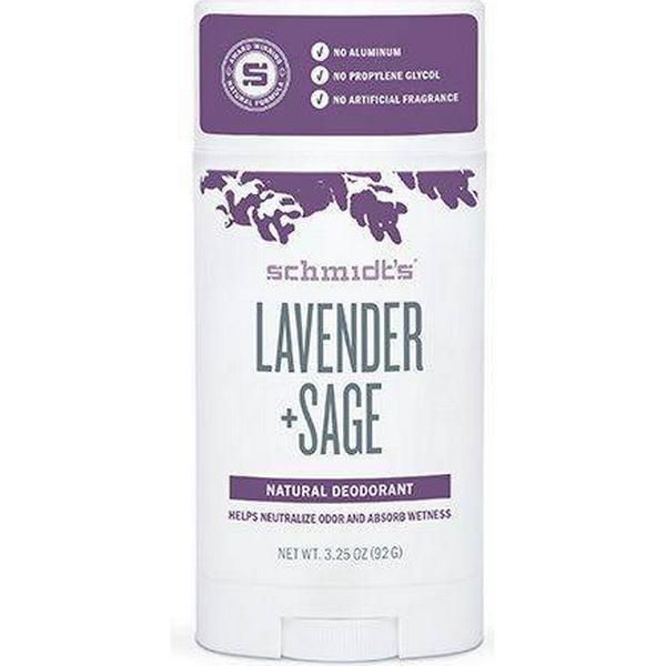 Schmidt's Lavender + Sage Deo Stick 92g