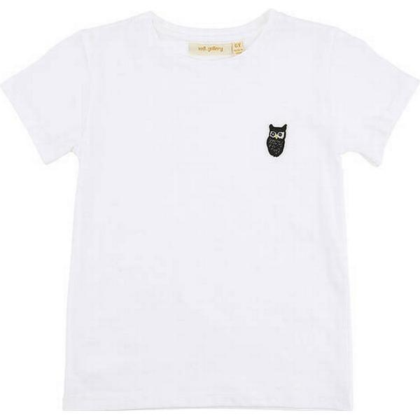 Soft Gallery T-Shirt Bass Owl Patch - White (979-001-323)