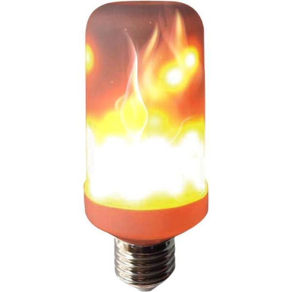 Halo Design Colors Burning Flame LED Lamps 2.5W E27