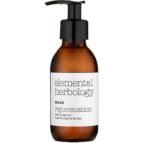 Elemental Herbology Wood Rejuvenation Bath & Body Oil 145ml