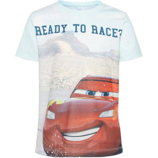 Name It Mini Cars T-shirt - Blue/Dusty Blue (13155232)