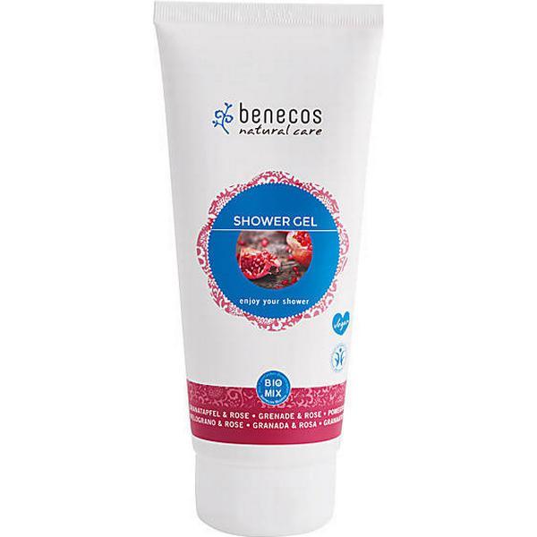 Benecos Natural Shower Gel Pomegranate & Rose 200ml