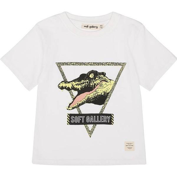 Soft Gallery T-shirt Asger - White (452-001-598)